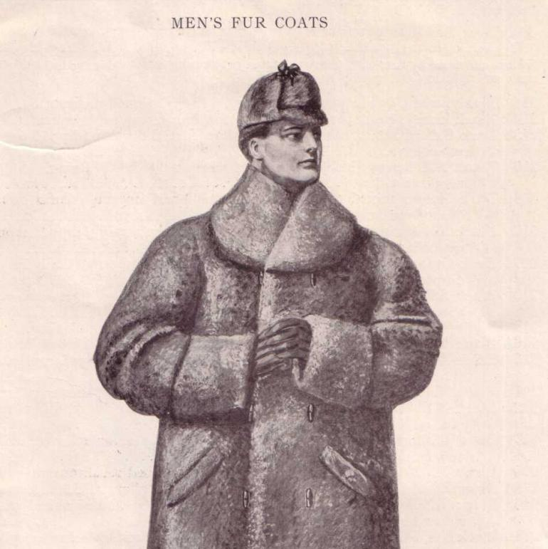 'Lanpher Furs, North Star Brand. Lanpher, Skinner & Co., St. Paul, Minn. Season 1906-7. 72 pages, page 63